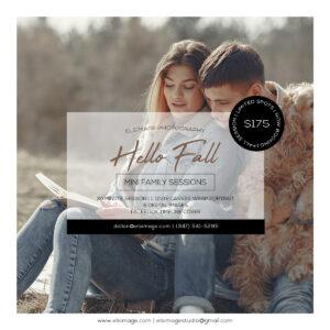 Fall Mini Family Photoshoot-Campaign